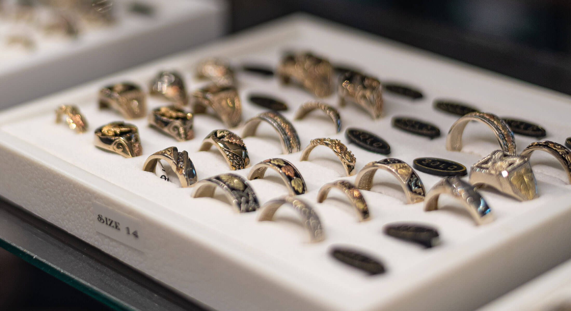 Black Hills Gold Rings For Sale At Gold Diggers Rapid City