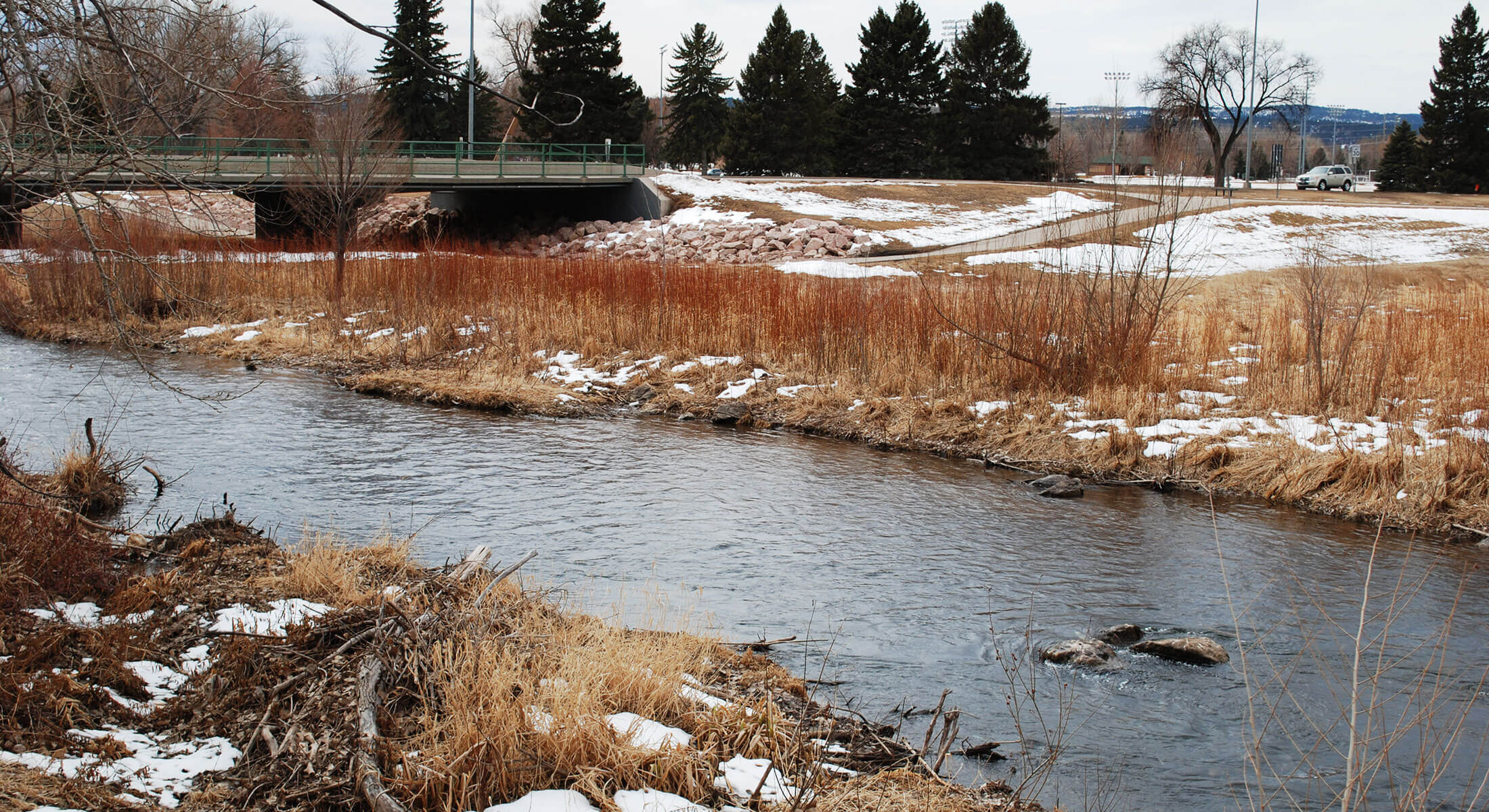 Rapid Creek Fishing Location in Rapid City