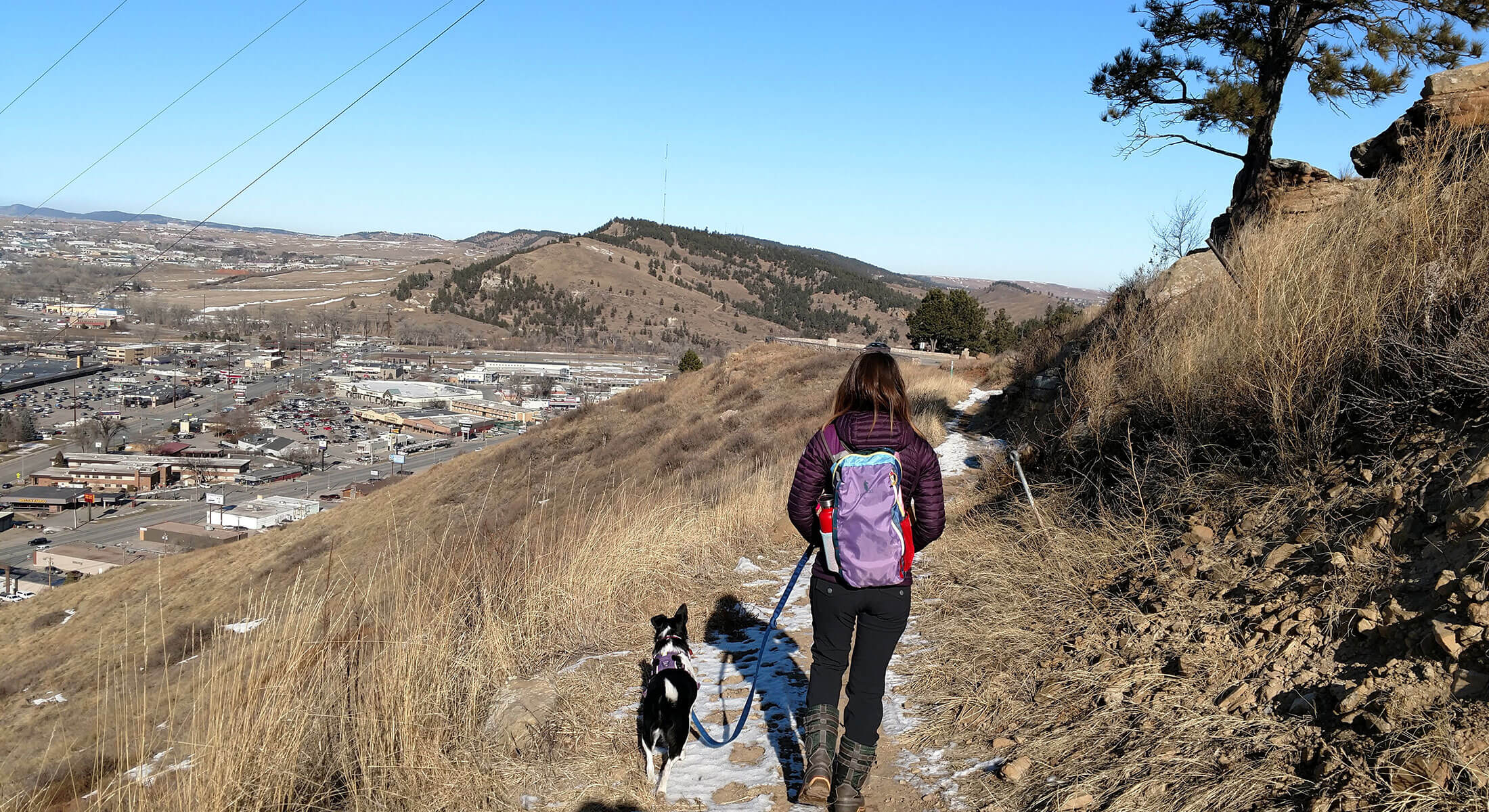 Hiking on the Skyline Wilderness Area Trails