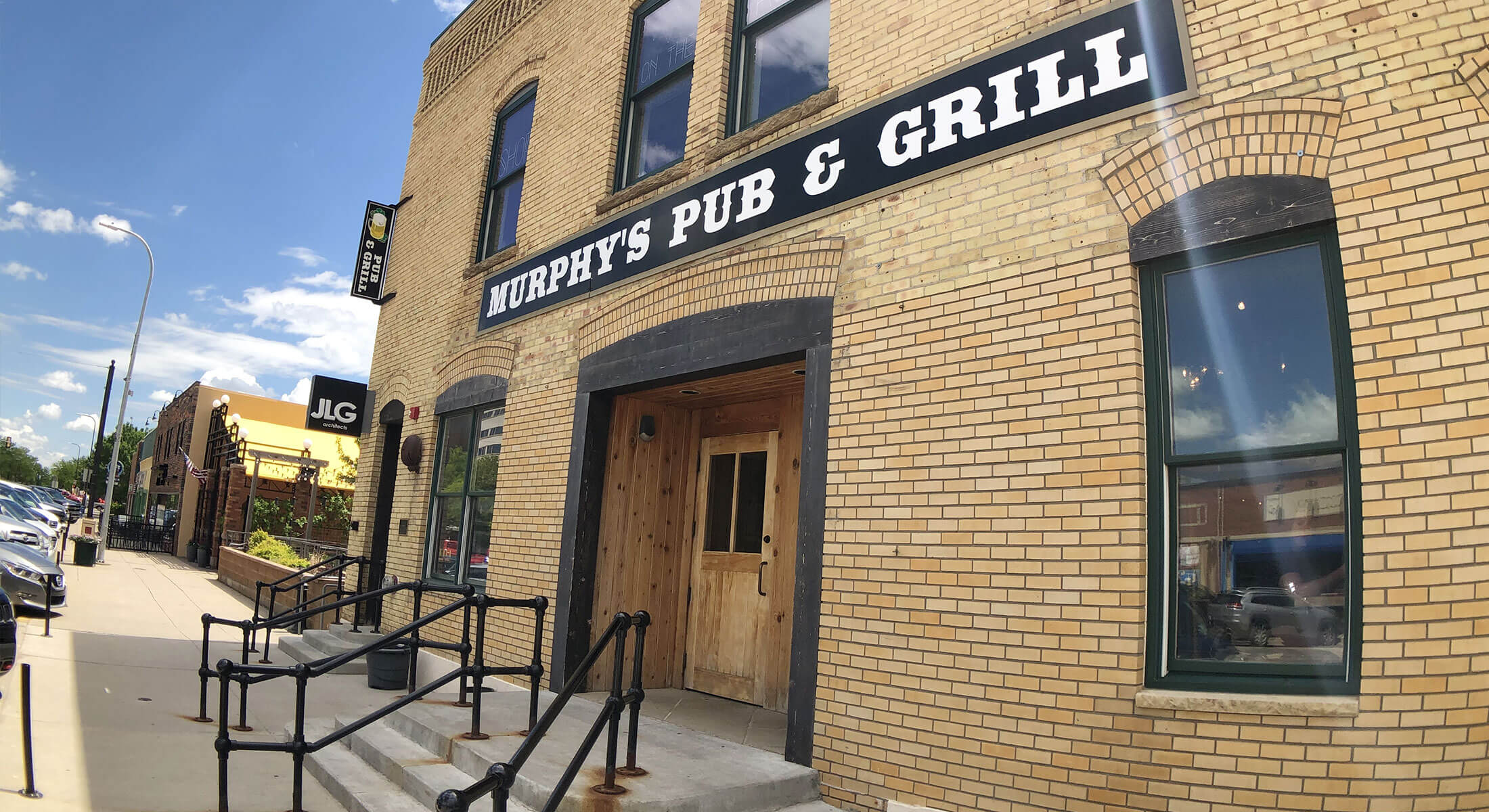 Exterior of Murphy's Pub and Grill in Downtown Rapid City
