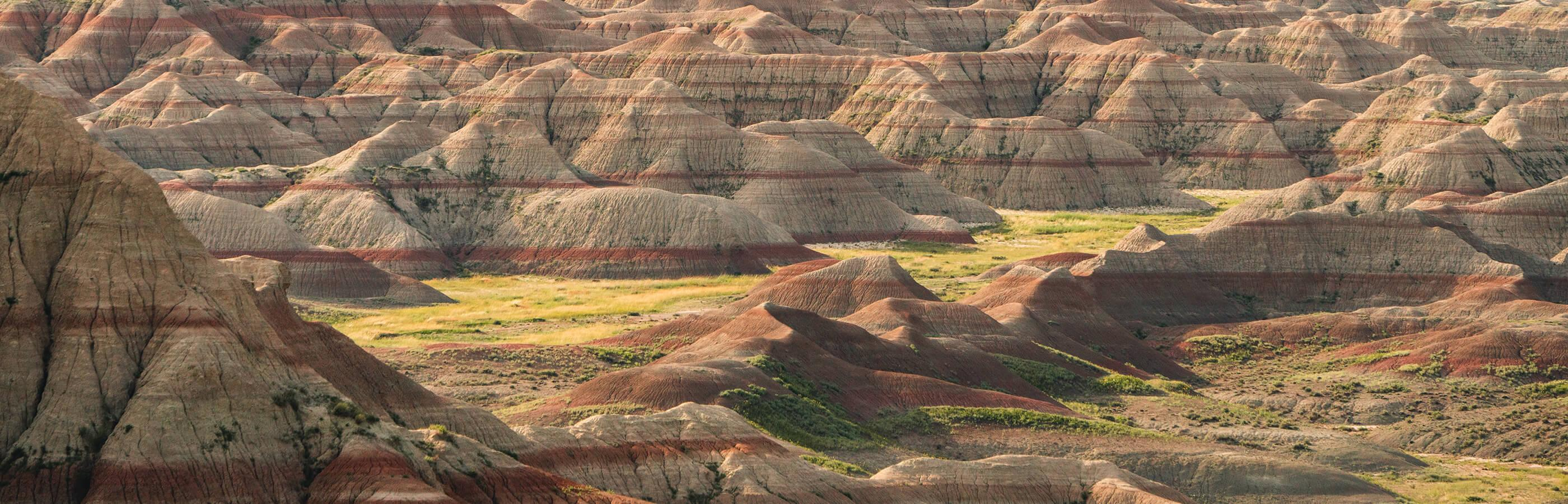 Badlands National Park Layers