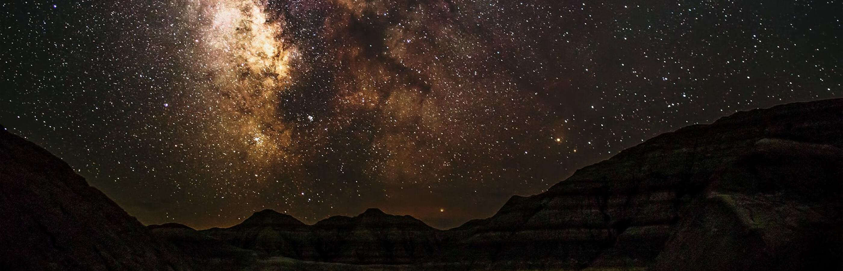 Milky way Star Photography at Badlands National Park