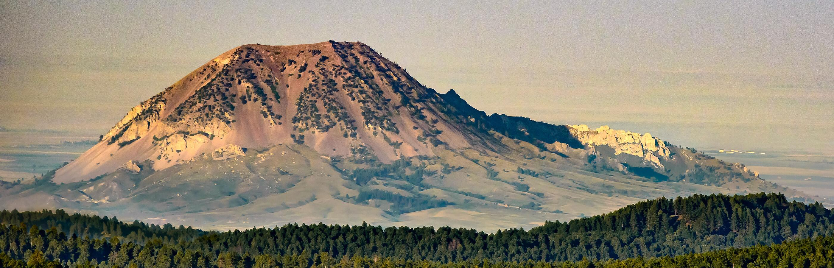 Bear Butte State Park Aerial Shot