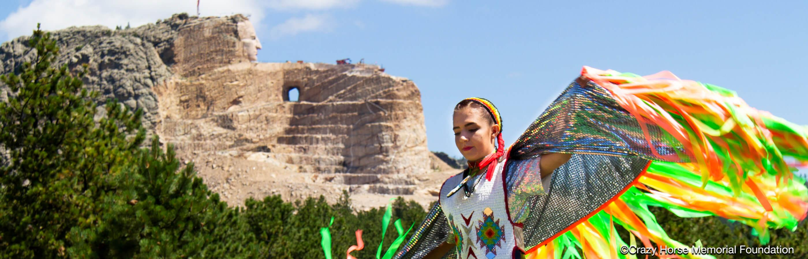 Dancer At Crazy Horse Memorial