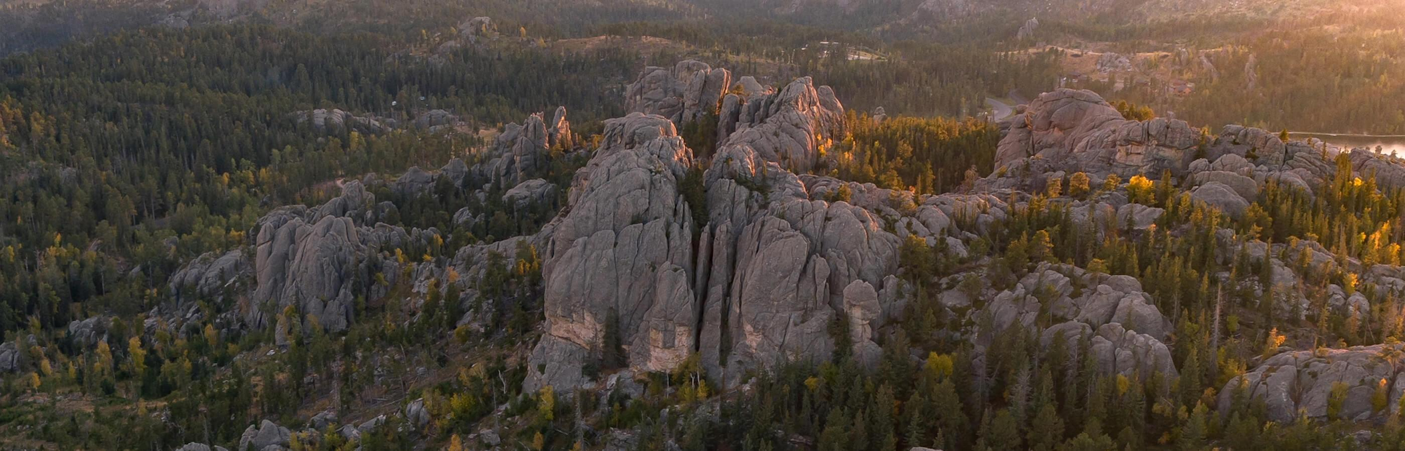 Custer State Park Aerial Photograph