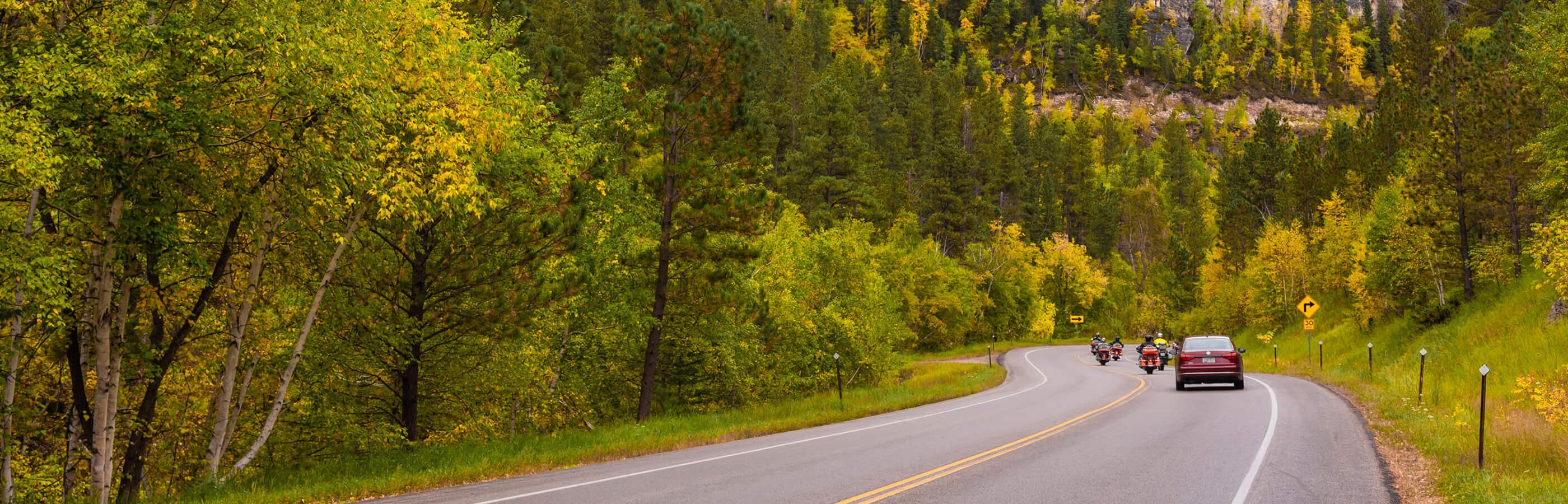 Spearfish Canyon Cruising