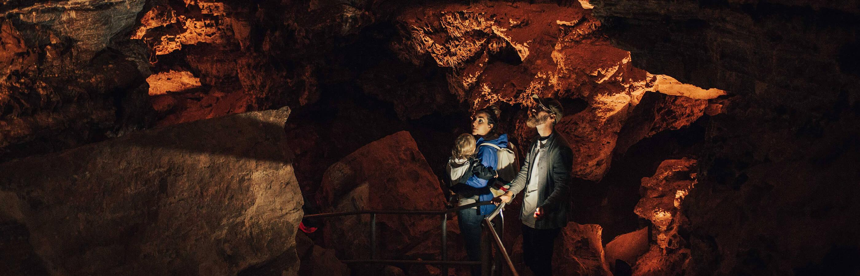 Family in Wind Cave National Park