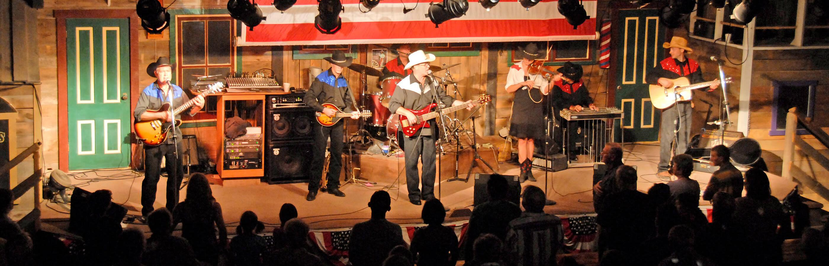 Live Performance At The Chuckwagon Dinner Show