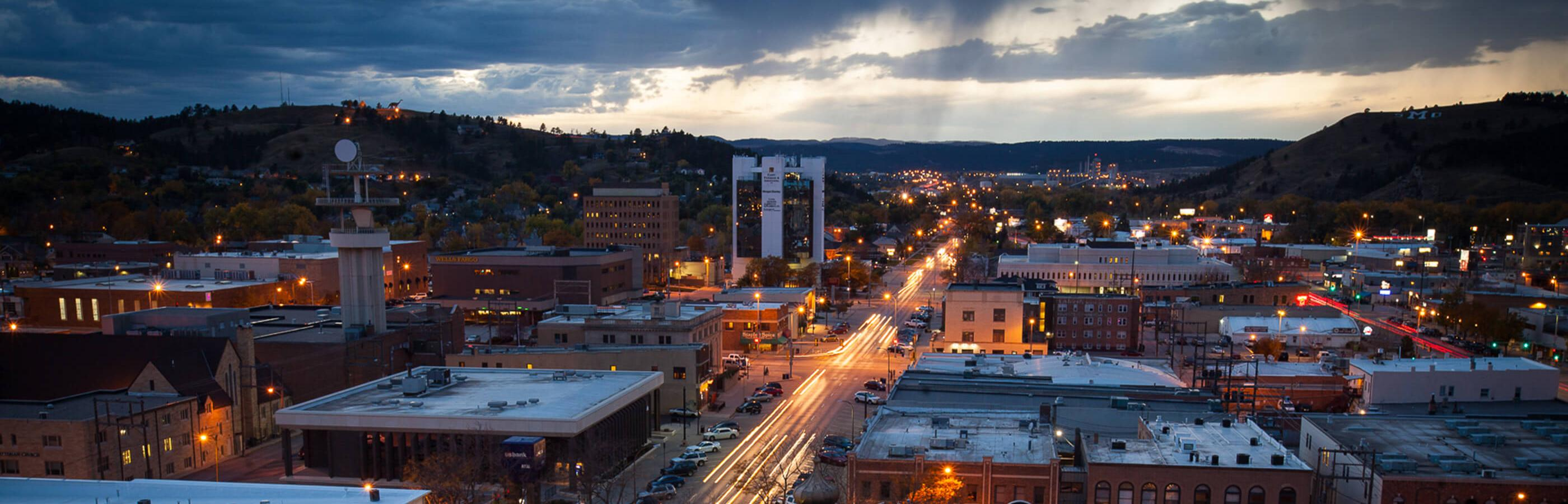 Downtown Rapid City South Dakota
