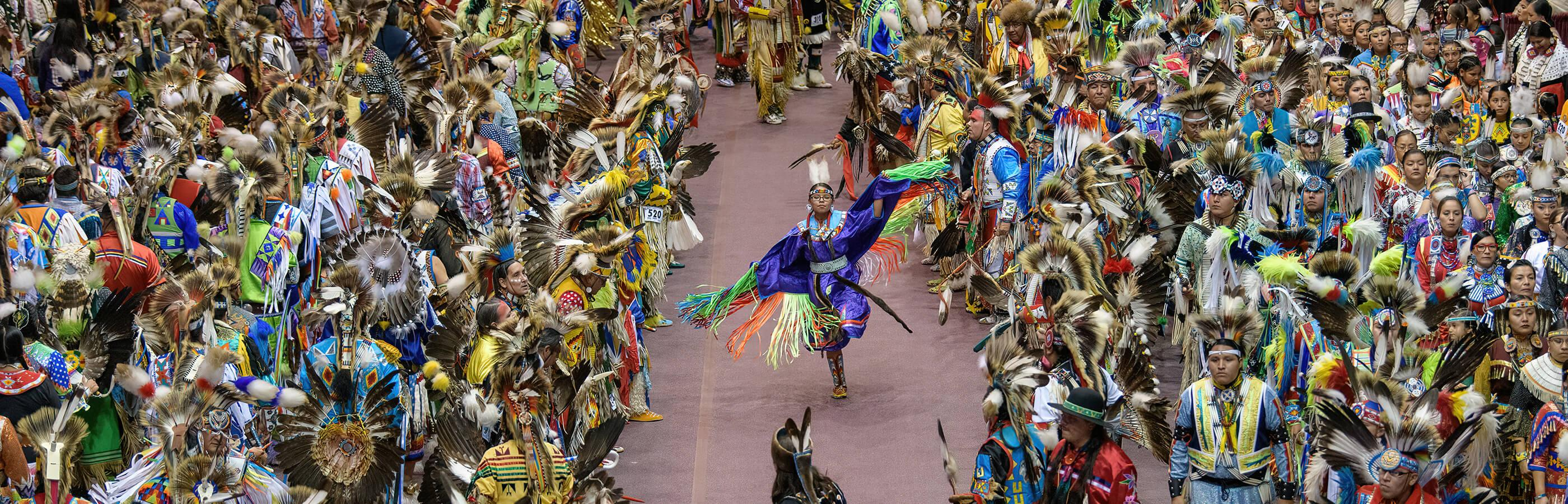 Dancers At The Black Hills Powwow