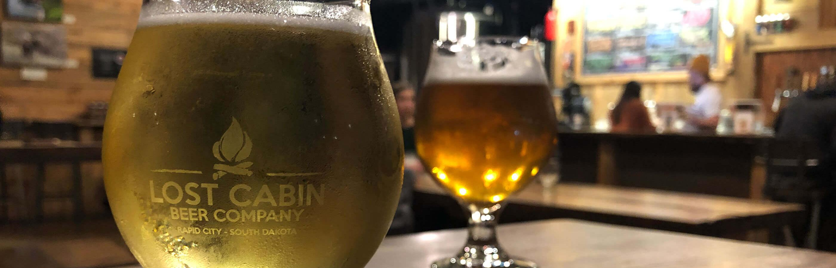 Cold Beers At Rapid City Brewery Lost Cabin Beer Co.