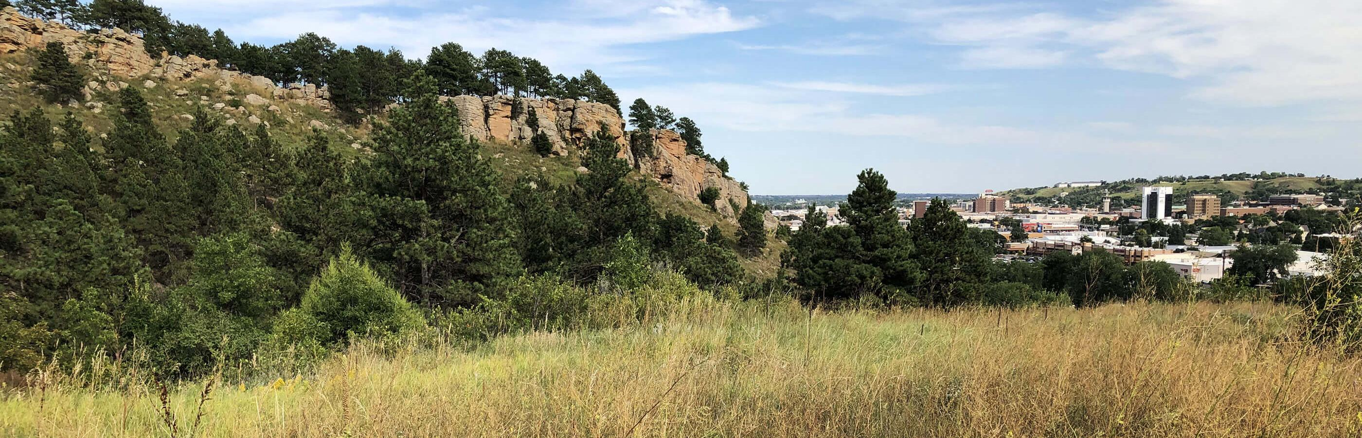 View of Rapid City from M Hill