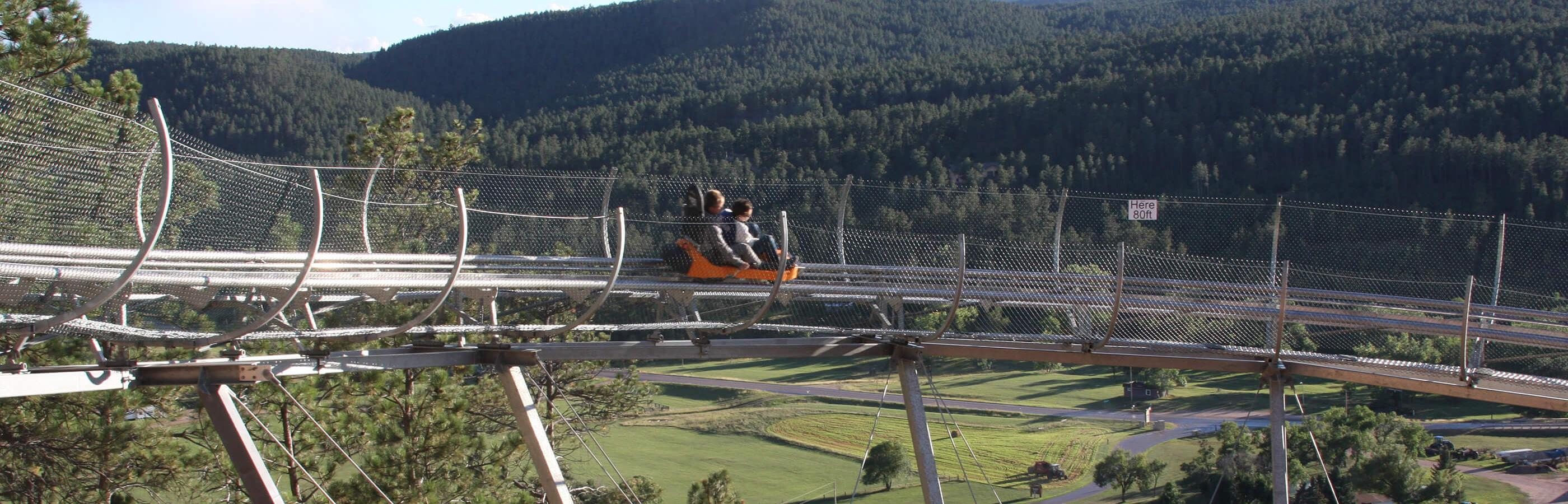 Mountain Coaster At Rush Mountain Adventure Park