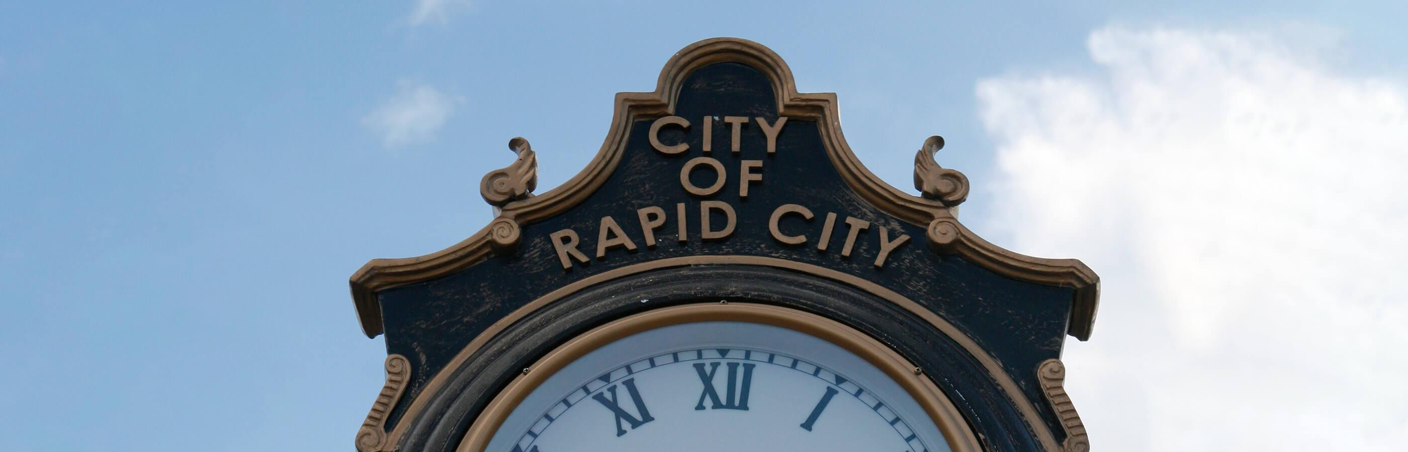 City of Rapid City Clock