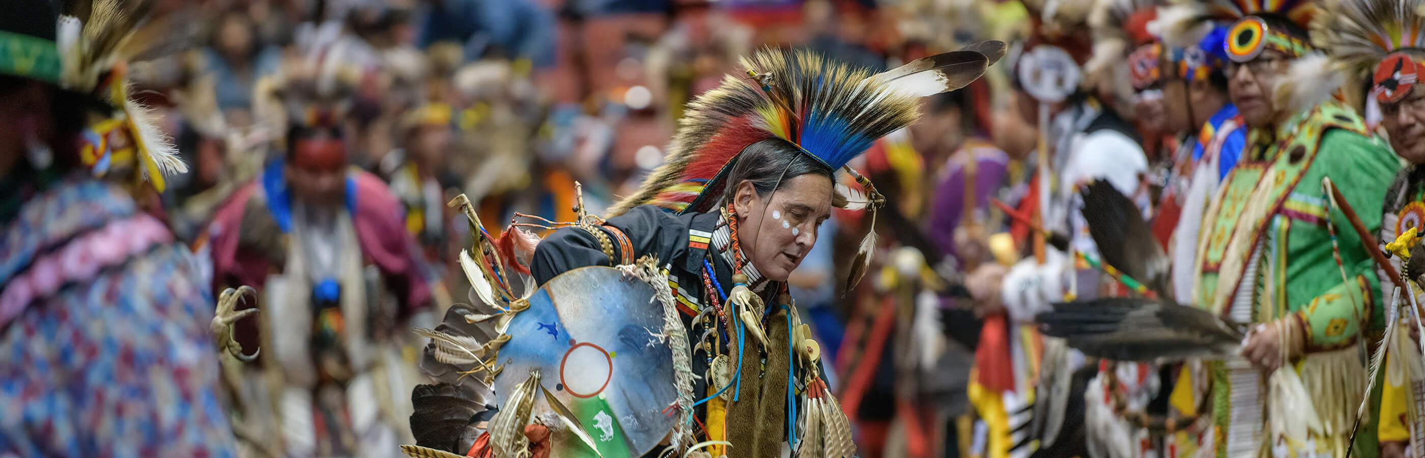 Dancer at the Black Hills Powwow in Rapid City