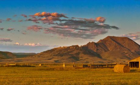 Bear Butte State Park and Barn