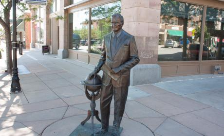 George Bush Senior Statue in the City of Presidents