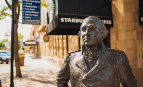 George Washington Statue in the City of Presdients