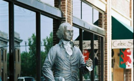 James Madison Statue in the City of Presidents