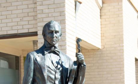 John Tyler Statue in the City of Presidents