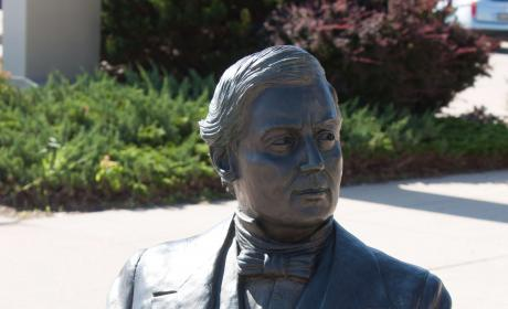 Millard Fillmore Statue in the City of Presidents