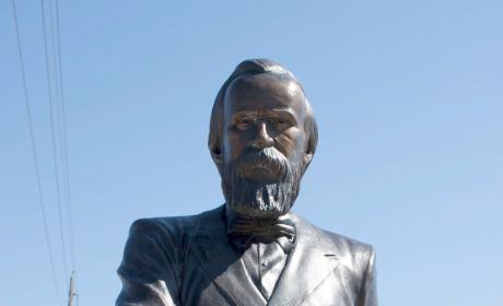 Rutherford Hayes Statue in the City of Presidents