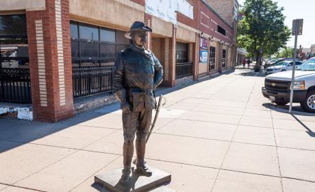 Theodore Roosevelt Statue in the City of Presidents