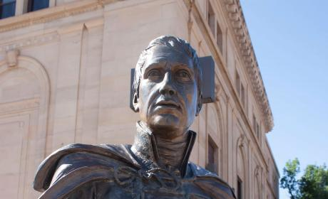 William Henry Harrison Statue in the City of Presidents