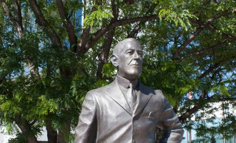 Woodrow Wilson Statue in the City of Presidents