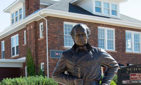 Zachary Taylor Statue at the City of Presidents
