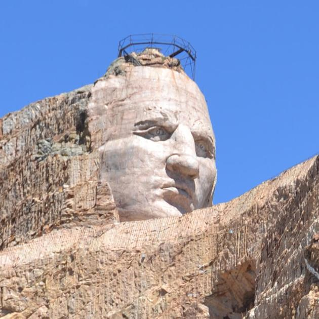 Crazy Horse Memorial Construction