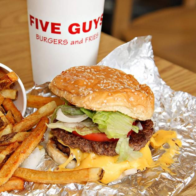 Burgers And Fries From Five Guys