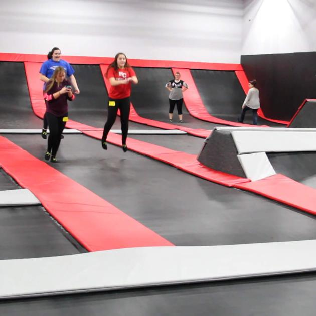 Indoor Trampolines At Jump Craze