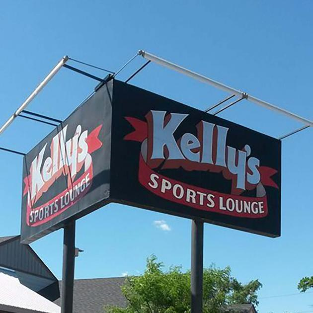 Signage for Kelly's Sports Lounge