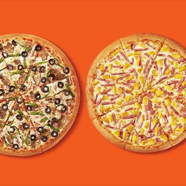Variety of Pizzas from Little Caesars