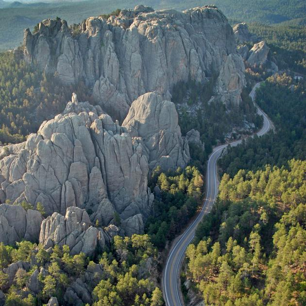 Scenic Drive Through The Black Hills