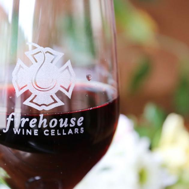 Firehouse wine glass