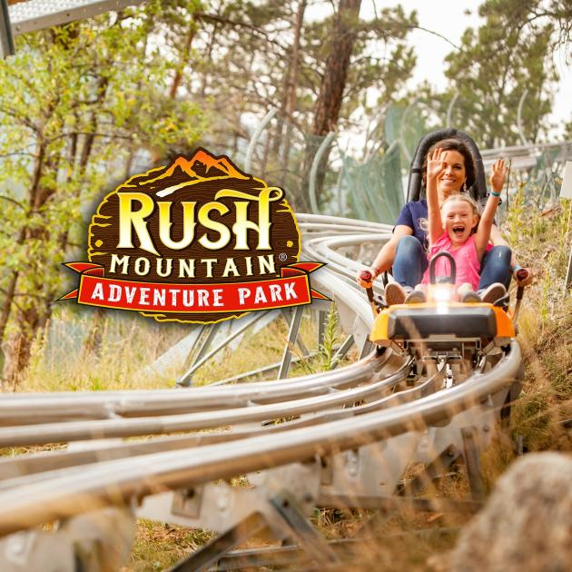 Rush Mountain Adventure Park logo
