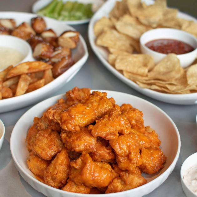 Menu Items from Buffalo Wings and Rings