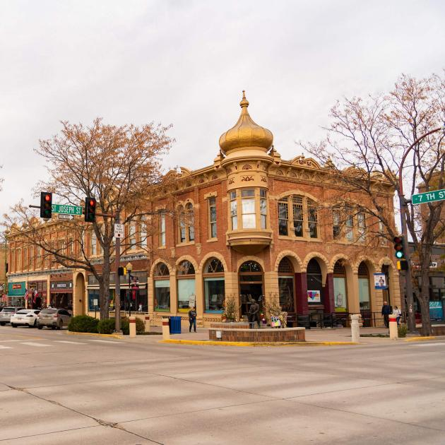 Historic Buildings In Downtown Rapid City