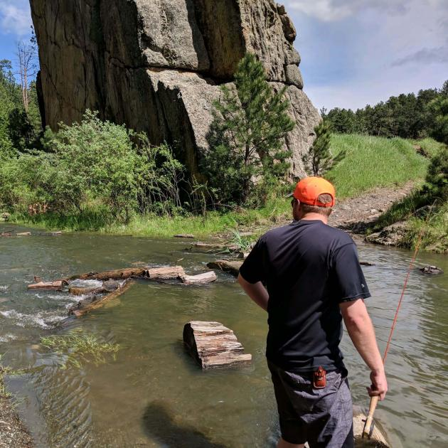 Fishing In the Black Hills National Forest
