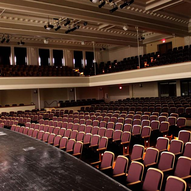 Inside the Performing Arts Center