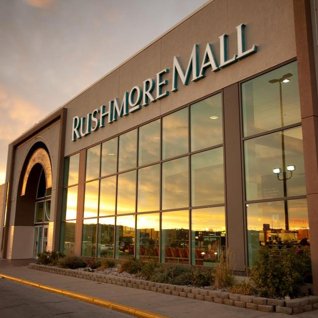 Exterior of The Rushmore Mall In Rapid City