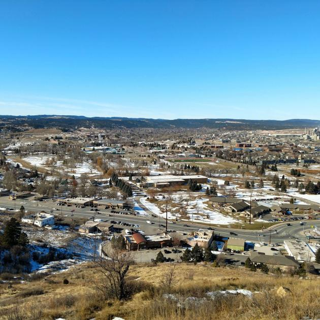 Skyline Wilderness Views Of Rapid City