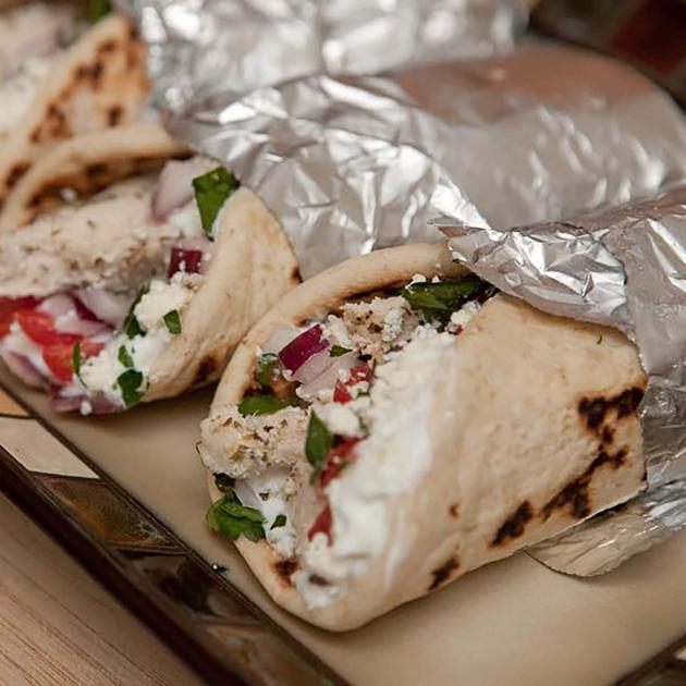 Menu Items from the Rapid City Gyro Hub