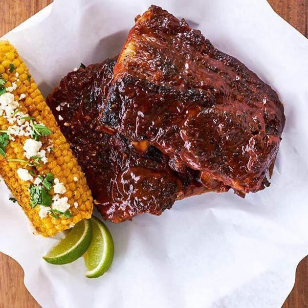 Chilis Ribs and Corn