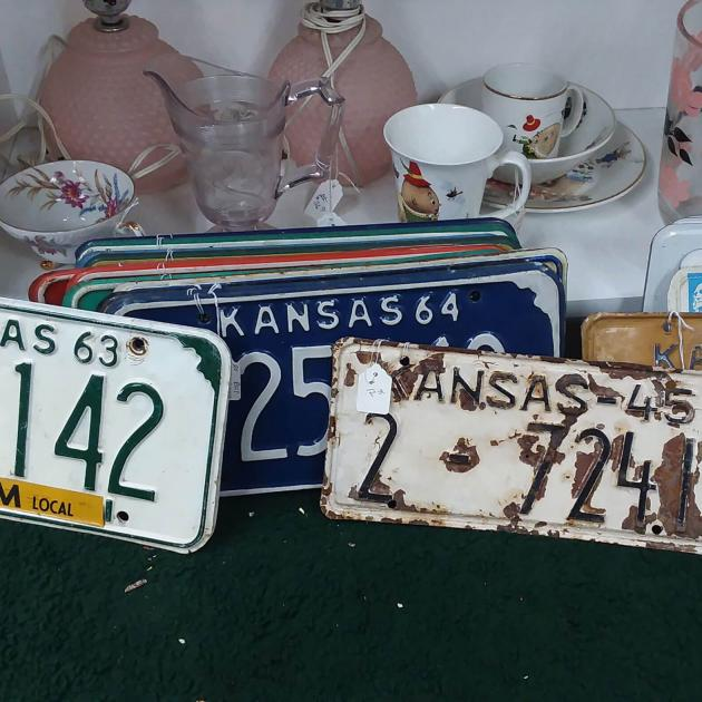 Antiques from St. Joe Antiques Mall in Rapid City, SD