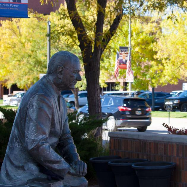 City of Presidents in downtown rapid city