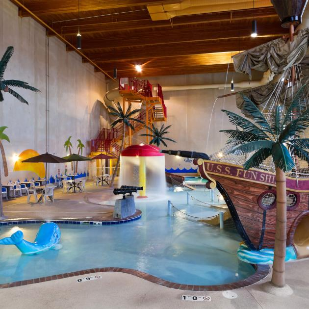 Waterpark at Best Western Ramkota in Rapid City, South Dakota