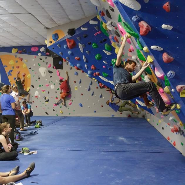 Black Hills Basecamp Climbing Gym in Rapid City, SD